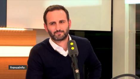 Steve Salom, directeur d'Uber en France, le 7 décembre 2017 sur franceinfo Source RADIO FRANCE FRANCEINFO