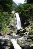 Cascade dans la réserve de Lagodekhi