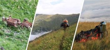 Paysages de la réserve de Lagodekhi